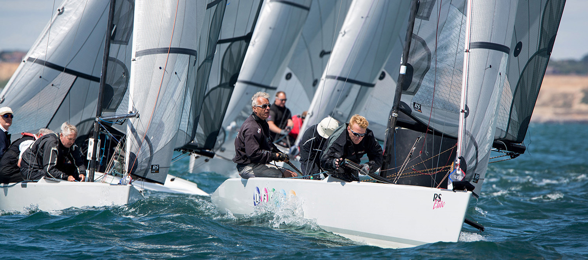 RS Elite sailing upwind