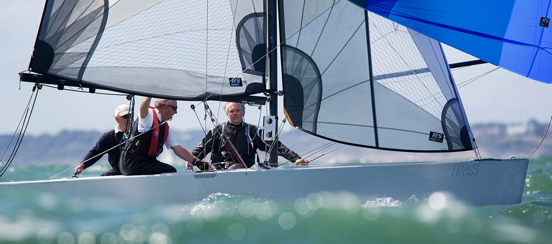 RS Elite sailing downwind